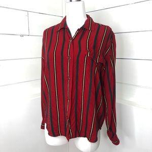 *Vintage* Esprit Striped Button Down